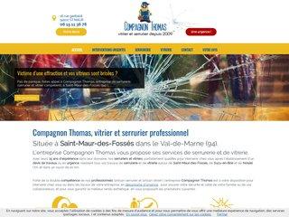 Serrurerie: Compagnon Thomas à St Maur des Fossés (94)