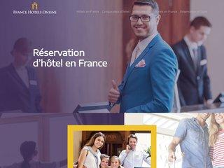 Faire une réservation de chambre d'hôtel en France