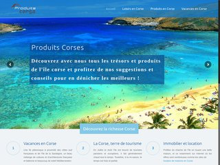 Les richesses de la Corse