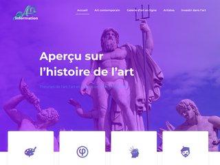 Art Information, le site sur l'actualité artistique et culturelle