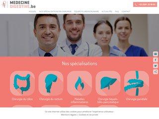 Service de médecine digestive de la clinique Saint-Luc à Bouge (Namur)