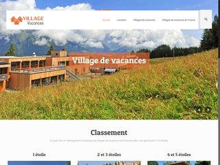 Tout savoir sur les villages de vacances
