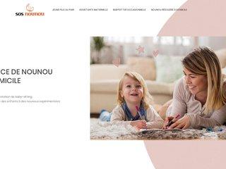SOS Nounou, services de nounou et de garde d'enfant