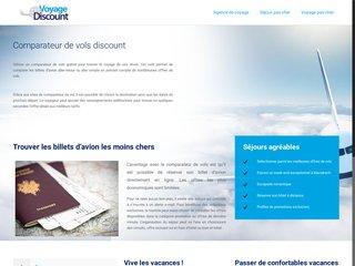Voyage Discount, le meilleur comparateur de vols