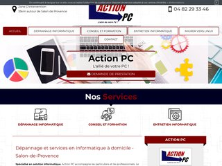 Réparation d'ordinateur à Salon-de-Provence, Action Pc