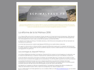 SCPI loi Malraux