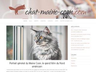 Tout savoir sur le chat Maine Coon