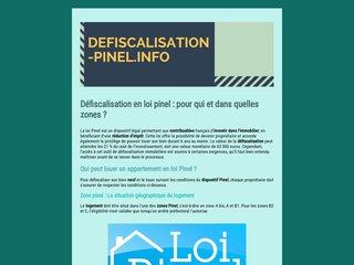 Informations sur la loi Pinel