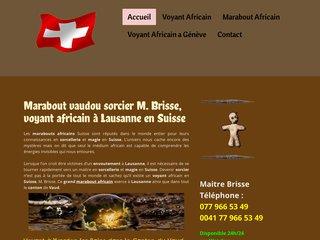 Maitre Brisse : grand voyant médium africain en Suisse