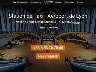 Centrale de Taxi à l'Aéroport de Lyon Saint-Exupéry