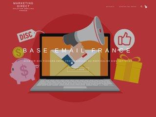 Fichiers de bases adresses e-mails professionnelles