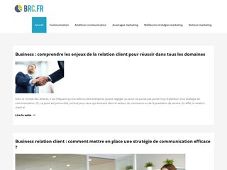 Le marketing avec BRC