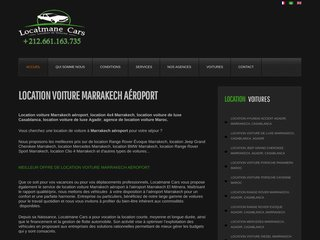 location Voiture Marrakech Aeroport - agence locatmane cars
