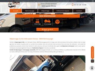 Société de dépannage d'auto à Lille
