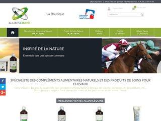 Produits de soins et compléments alimentaires naturels pour cheval - Alliance Equine