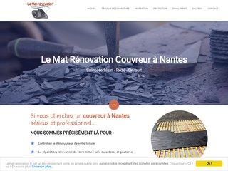 Lemat rénovation, couverture et charpente à Nantes