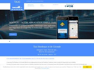 Associations de taxi bordelais en Gironde