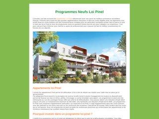 Programme loi Pinel