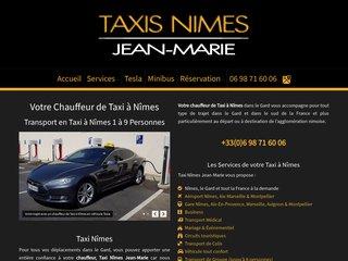 Taxi Nîmes Jean-Marie