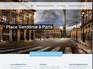 Découvrir la place Vendôme