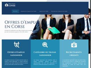 De meilleueres offres d'emploi en Corse