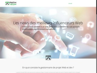 Site d'informations sur la technologie