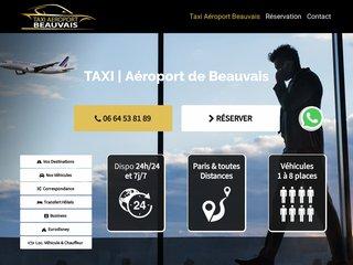 Centrale de Taxi à l'Aéroport de Beauvais Paris