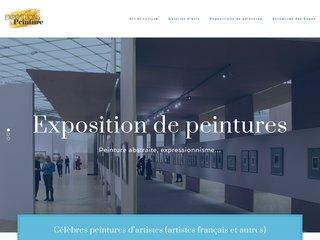 Informations sur les expositions des peintures