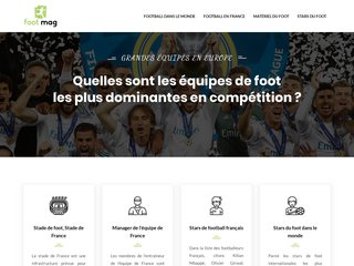 Foot Mag, site d'informations sur le football