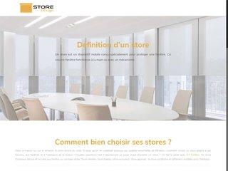 Les stores design pour votre maison