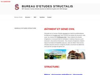 Bureau d'étude structure
