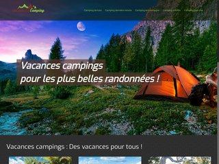 Informations sur les vacances en camping