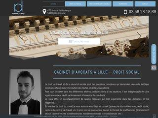 Cabinet d'avocat au barreau de Lille