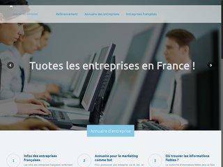 L'annuaire des entreprises en France