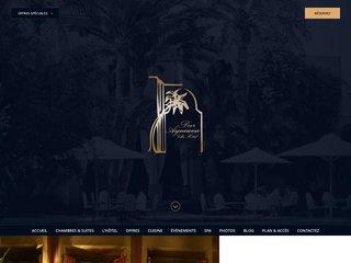 Hôtel luxe Marrakech