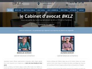 Avocats au Barreau de Charleroi, Cabinet BKLZ