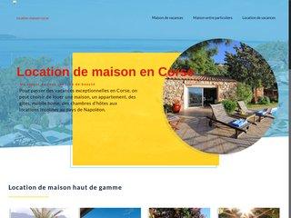 Découvrez la maison désirée pour un séjour unique en Corse