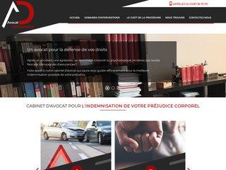 Avocat préjudice corporel - indemnisation préjudice corporel : Cabinet AD