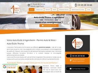 Permis B à Ingersheim - Auto-École Thoma