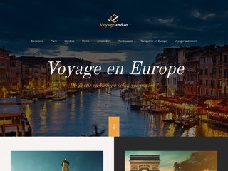 Guide de voyage de L'Europe