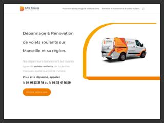 Dépannage et rénovation de volets roulants et de stores à Marseille