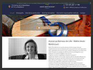 Avocat en droit public à Lille, Maître Anaïs Bertincourt