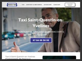 Taxi à Saint-Quentin-en-Yvelines