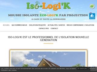 ISO-LOGI'K - spécialiste de l'isolation par mousse projetée à Caen