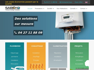 SABEKO : projets plomberie, chauffage et climatisation