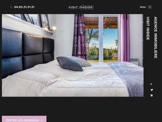 Agence Immobilière en Ligne - VISIT INSIDE