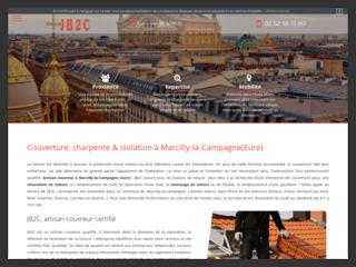 Entreprise de couverture à Marcilly-la-Campagne
