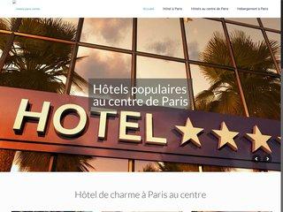 Hôtels dans le centre de Paris