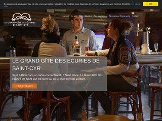Grand Gîte des Ecuries de Saint-Cyr près de Blois