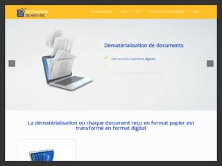 Dématérialisation de document papier en numérique
